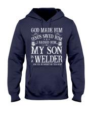 My Son Is A Welder Hooded Sweatshirt thumbnail