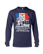 Iowa - for Memorial day 2018 Long Sleeve Tee thumbnail