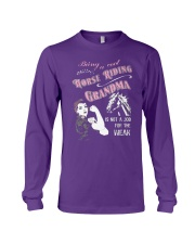 Being  cool horse Long Sleeve Tee thumbnail