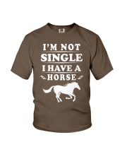 I have a horse Youth T-Shirt front