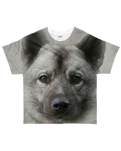 Norwegian Elkhound-Face and Hair
