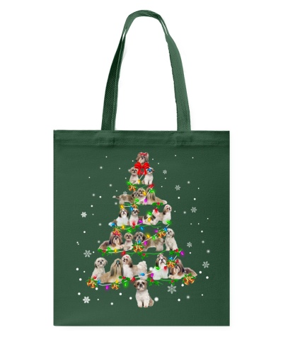 Shih Tzu - Christmas Tree