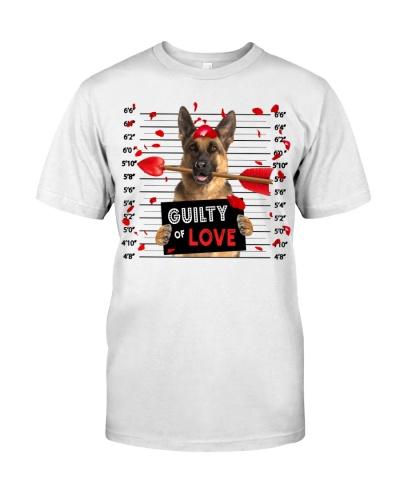 German Shepherd Guilty of Love