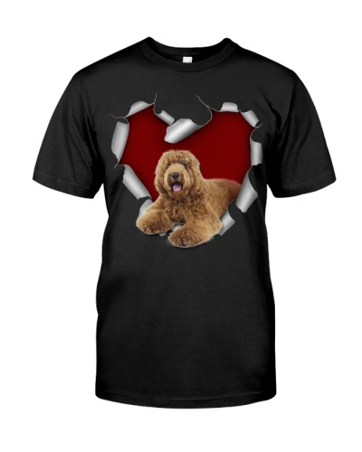 Labradoodle 3 Torn Heart