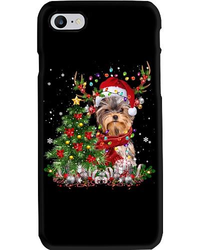 Yorkshire Terrier-Reindeer-Christmas