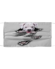 Dogo Argentino-Scratch1-FM Cloth face mask front