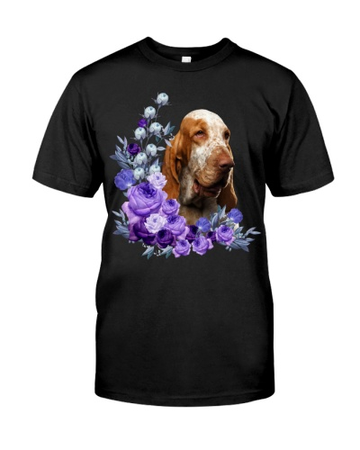 Bracco Italiano-Purple Flower Stems