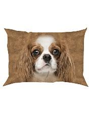 Cavalier King Charles Spaniel-Face and Hair Rectangular Pillowcase thumbnail