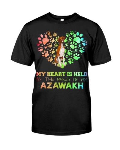 Azawakh Heart Paw