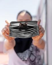 Bombay Cat Stripes FM Cloth face mask aos-face-mask-lifestyle-07