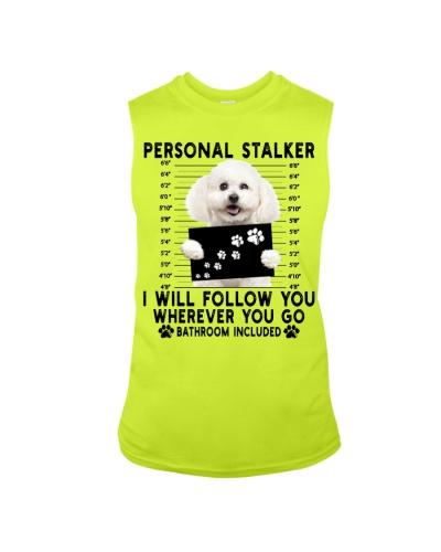 Bichon Frise Funny Personal Stalker