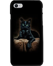 Black Cat Phone Case thumbnail
