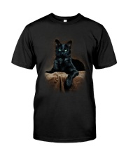 Black Cat Classic T-Shirt tile