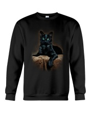 Black Cat Crewneck Sweatshirt thumbnail
