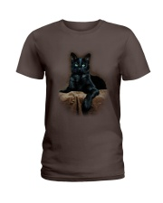 Black Cat Ladies T-Shirt thumbnail