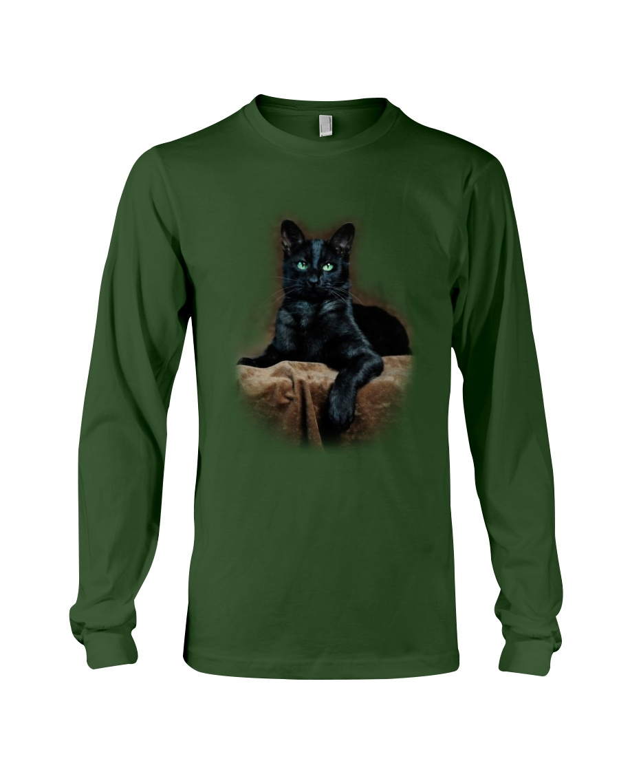 Black Cat Long Sleeve Tee