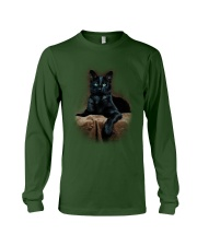 Black Cat Long Sleeve Tee front
