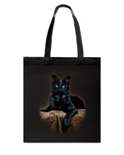 Black Cat Tote Bag thumbnail