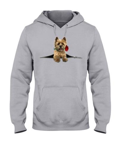 Cairn Terrier-Rose-Zipper