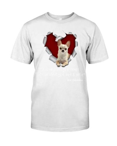 Chihuahua-Torn Paper Heart