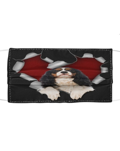 Cavalier King Charles Spaniel 1 Torn Heart Face
