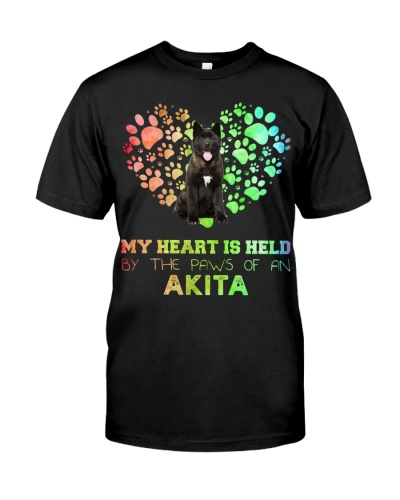 Akita Heart Paw