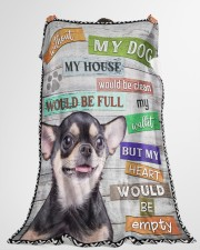 """Chihuahua-BLK-NT234 Large Fleece Blanket - 60"""" x 80"""" aos-coral-fleece-blanket-60x80-lifestyle-front-10a"""
