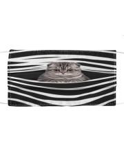 Scottish Fold Cat Stripes FM Cloth face mask front
