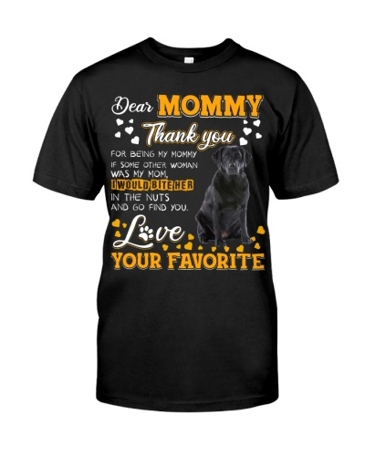 Dear Mommy-Labrador Retriever