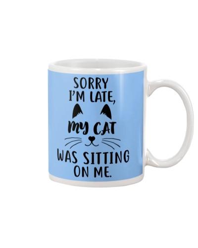 Cat-Sorry I'm Late