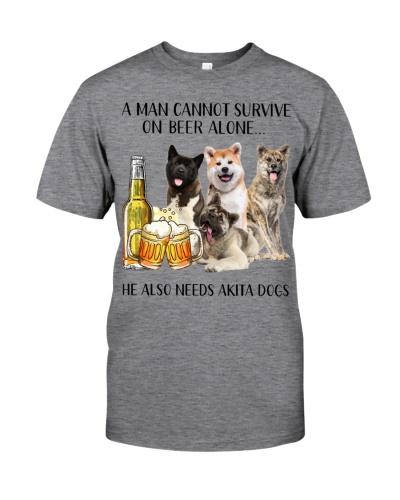 He Also Needs Akita And Beer
