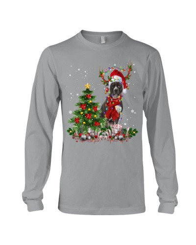 Pit Bull-Reindeer-Christmas