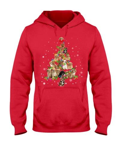 Cavapoo-Christmas Tree