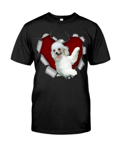 Poodle 3 Torn Heart