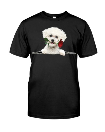 Bichon-Rose-Zipper