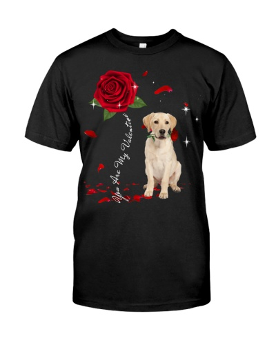 Labrador Retriever is My Valentine-Rose