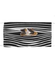 Guinea Pig Stripes FM Cloth face mask front
