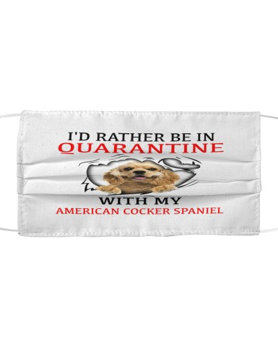 Quarantine With My American Cocker Spaniel Face