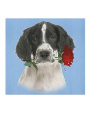 English Springer Spaniel Rose FM Cloth face mask aos-face-mask-coverlet-lifestyle-front-02