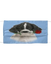 English Springer Spaniel Rose FM Cloth face mask front