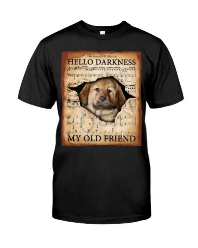 Tibetan Mastiff Hello Darkness