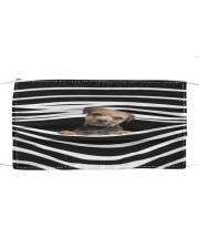 Border Terrier Stripes FM Cloth face mask front