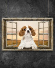 Cavalier King Charles Spaniel-PT-NT374 17x11 Poster aos-poster-landscape-17x11-lifestyle-12