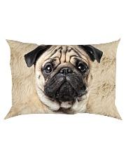 Pug-Face and Hair Rectangular Pillowcase thumbnail