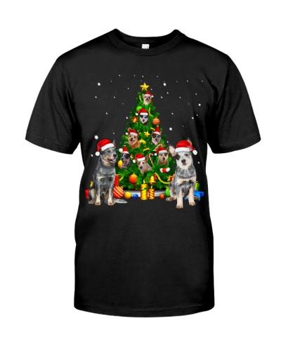 Australian Cattle Dog-Christmas Tree-1