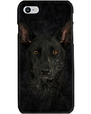 Dutch Shepherd-Face and Hair Phone Case tile