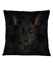 Dutch Shepherd-Face and Hair Square Pillowcase thumbnail