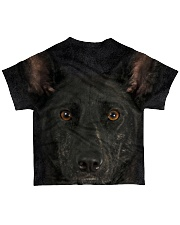 Dutch Shepherd-Face and Hair All-over T-Shirt back