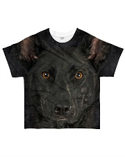 Dutch Shepherd-Face and Hair All-Over T-Shirt tile