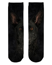 Dutch Shepherd-Face and Hair Crew Length Socks thumbnail